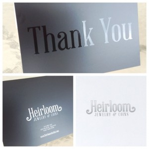 Heirloom Thank You Cards