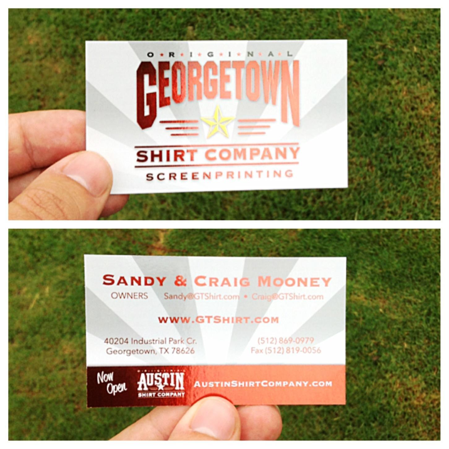 portfolio categories business cards