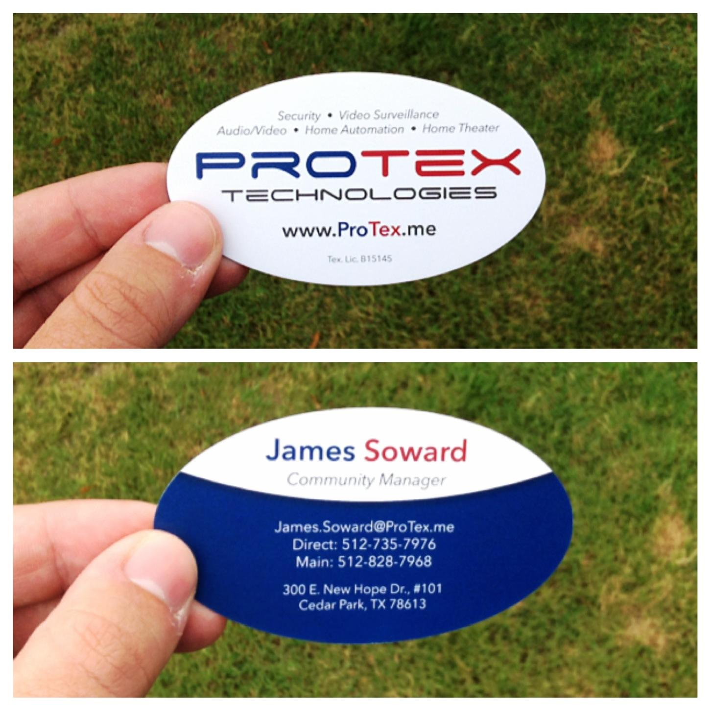 Portfolio Categories Business Cards | Print & Design by Chad Wright ...